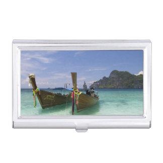 Étui Pour Cartes De Visite La Thaïlande, île de Don de phi de phi, plage de