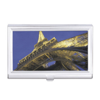 Étui Pour Cartes De Visite L'Europe, France, Paris, Tour Eiffel, égalisant 2