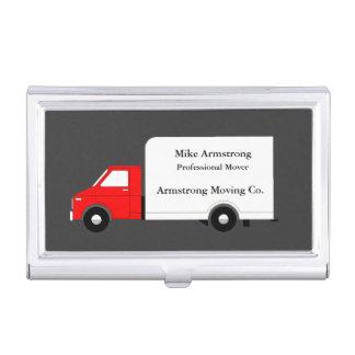 Étui Pour Cartes De Visite Moteur mobile de camion d'entreprise de