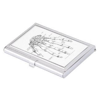 Étui Pour Cartes De Visite Os vintages de l'anatomie | de la main