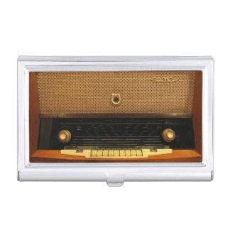 Étui Pour Cartes De Visite Radio vintage