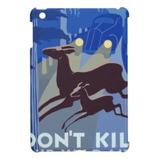 Étuis iPad Mini Animal vintage de faune