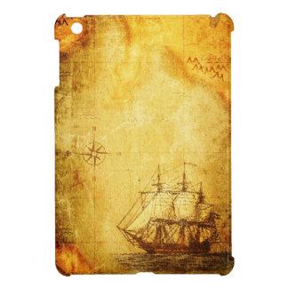 Étuis iPad Mini Carte et bateau antiques