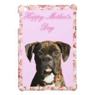 Étuis iPad Mini Cas d'ipad de chien de boxeur du jour de mère mini