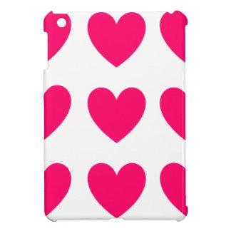 Étuis iPad Mini Conception rose de coeur