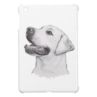 Étuis iPad Mini Dessin de portrait de chien de labrador retriever