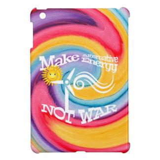 Étuis iPad Mini Faites le colorant de cravate de guerre d'énergie