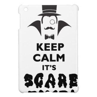 Étuis iPad Mini Gardez le calme qu'il est temps d'alerte