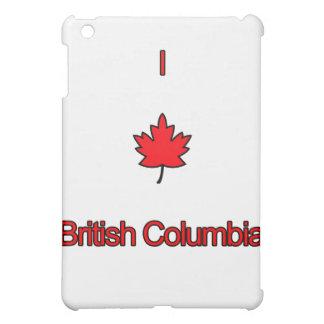 Étuis iPad Mini J'aime la Colombie-Britannique