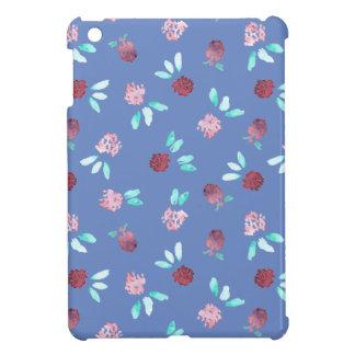 Étuis iPad Mini Le trèfle fleurit la mini caisse d'iPad brillant