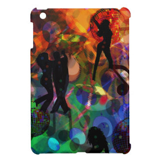 Étuis iPad Mini Lumière de danse, célébration party.PNG