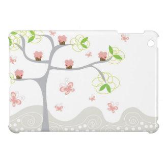 Étuis iPad Mini Mini cas de petits gâteaux d'iPad doux rose