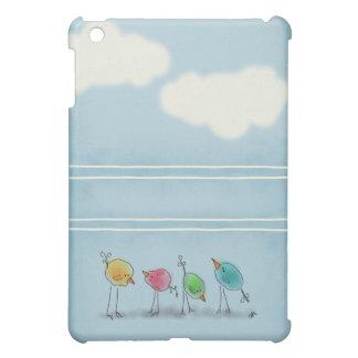 Étuis iPad Mini Oiseaux d'aquarelle