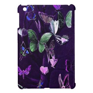 Étuis iPad Mini Papillons sur le pourpre