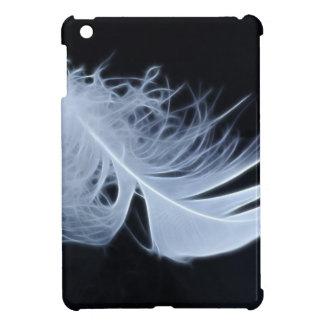 Étuis iPad Mini Plume blanche - angélique par nature