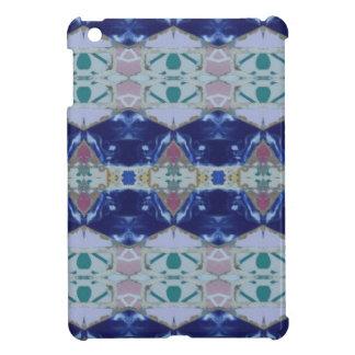 Étuis iPad Mini Rose bleu coloré lumineux espagnol de la mosaïque