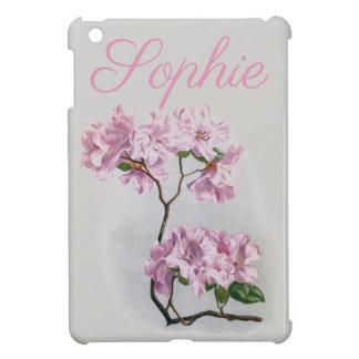 Étuis iPad Mini Rose vintage/victorien fleurit Personnalised