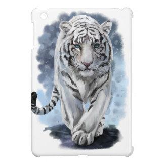 Étuis iPad Mini Tigre blanc