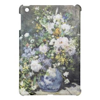 Étuis iPad Mini Vase à Pierre-Auguste Renoir de fleurs