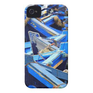 Étuis iPhone 4 Bateaux bleus