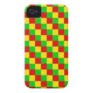 Étuis iPhone 4 Carrés de Rasta