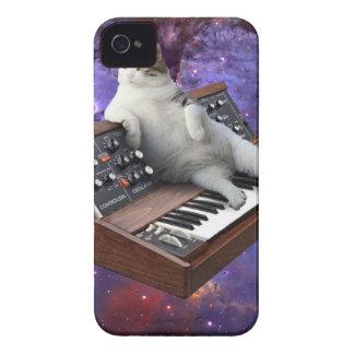Étuis iPhone 4 chat de clavier - memes de chat - chat fou