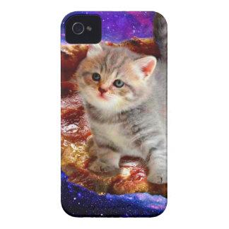 Étuis iPhone 4 chat de pizza - chats mignons - minou - chatons