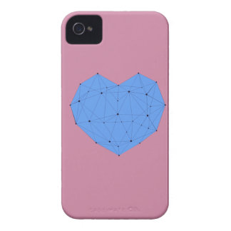 Étuis iPhone 4 Coeur géométrique