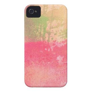 Étuis iPhone 4 Copie grunge abstraite d'aquarelle