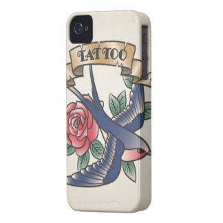 Étuis iPhone 4 Couverture carcasse pour Smartphone Tatouage