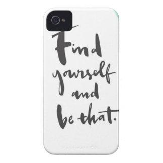 Étuis iPhone 4 Découverte ce que vous voulez et soyez celui