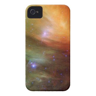 Étuis iPhone 4 Étoiles de Pleiades dans SSC2007 infrarouge 07A