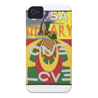 Étuis iPhone 4 Hillary Etats-Unis plus forte votent ensemble un