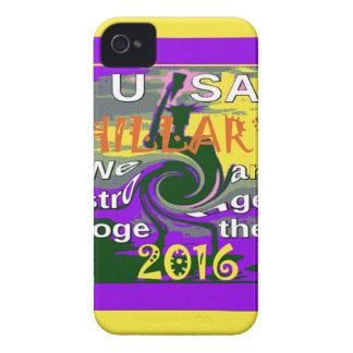 Étuis iPhone 4 Hillary pour le Président We des Etats-Unis sont