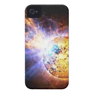 Étuis iPhone 4 L'étoile de demi-portion lâche la NASA géante de