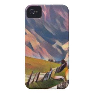 Étuis iPhone 4 moderne, dadaism, numérique, peinture, colorée,