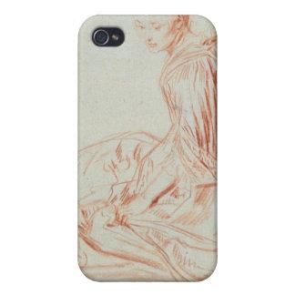 Étuis iPhone 4 Pierre un sourire de femme de Renoir |