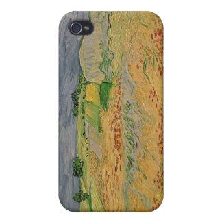 Étuis iPhone 4 Plaine de Vincent van Gogh | chez Auvers, 1890
