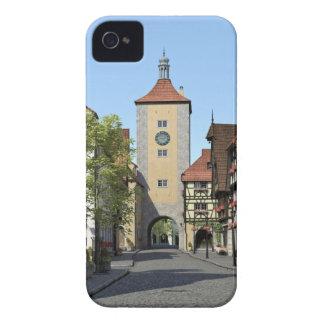 Étuis iPhone 4 Rue principale de ville de la Bavière