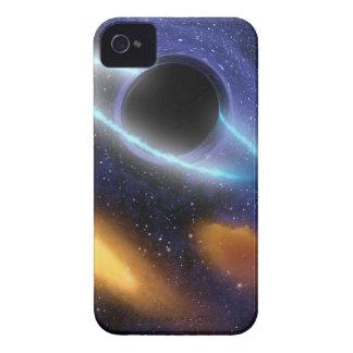 Étuis iPhone 4 Trou noir PIA01884 de NASAs