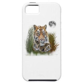 Étuis iPhone 5 Art d'animal de tigre