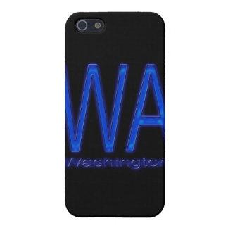 Étuis iPhone 5 Bleu de WA Washington