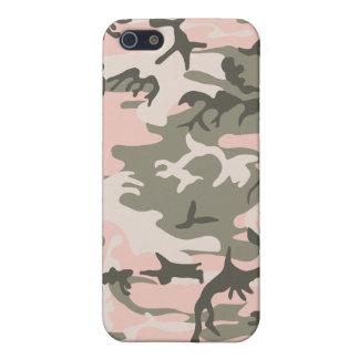 Étuis iPhone 5 Camouflage rose