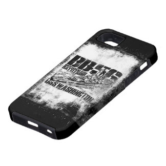 Étuis iPhone 5 Cas de l'iPhone SE/5/5s de Washington de cuirassé