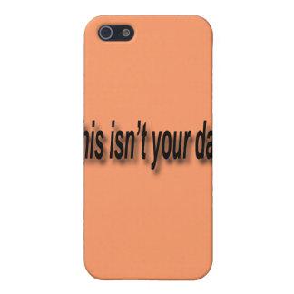 Étuis iPhone 5 Ce n'est pas votre noir de jour