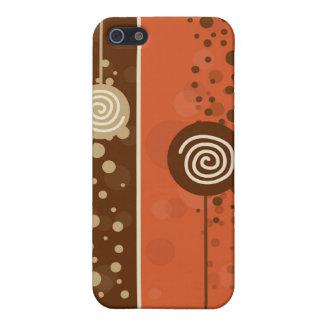 Étuis iPhone 5 Chocolat de lucette - I