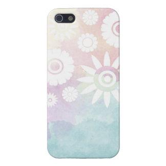 Étuis iPhone 5 Coque iphone de motif de fleurs