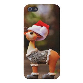 Étuis iPhone 5 Décorations de renne - renne de Noël
