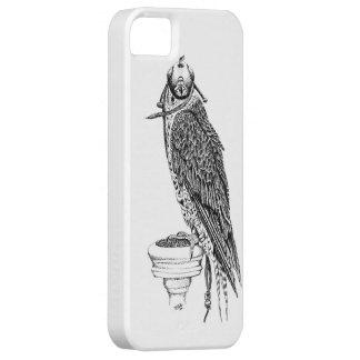Étuis iPhone 5 Faucon à capuchon je téléphone le cas