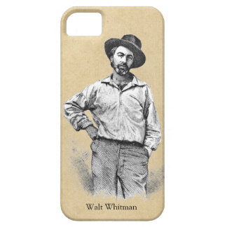 Étuis iPhone 5 Feuille de Walt Whitman d'herbe